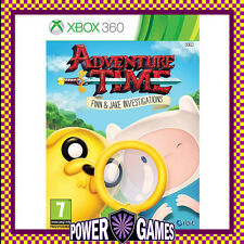 Adventure Time: Finn and Jake Investigations (Microsoft Xbox 360) Brand New