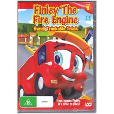 DVD FINLEY THE FIRE ENGINE: HANDI TRUCKABLE TRUCK VOL 1 6Episodes REGION 4 [BNS]