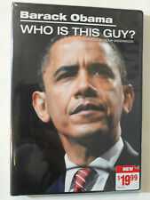 BARACK OBAMA WHO IS THIS GUY? DVD 2008 BLAIR UNDERWOOD  SEALED ORIGINAL COVER