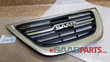 NEW SAAB 9-3 Upper Center Grille - Griffin 2008-2011 GENUINE OEM 12824618