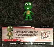 """Tube Heroes TINY TURTLE TH MYSTERY FIGURE Blind Tube 2"""" Figure  NEW RELEASE!"""