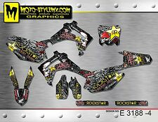 Moto StyleMX Honda graphics decals sticker kit CRf 250 R 2014 up to 2016