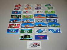 (30) COKE OR SODA VENDING MACHINE 12oz CAN LABEL VARIETY PACK - New Style Size!