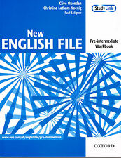 Oxford NEW ENGLISH FILE Pre-Intermediate Workbook without Key @NEW@