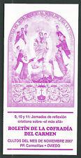 Folleto antigua de la Virgen del Carmen andachtsbild santino holy card santini