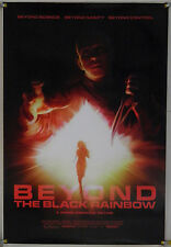 BEYOND THE BLACK RAINBOW DS ROLLED ORIG 1SH MOVIE POSTER INDIE SCI-FI (2010)