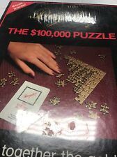 Decipher The $ 100,000 Dollar Puzzle Solve Its Mysterious Code Jigsaw 1984