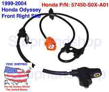 New ABS Wheel Speed Sensor for Honda Odyssey Front Right Passenger Site RH FR