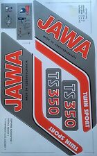 JAWA TS 350 STICKER SET
