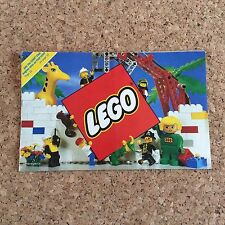 LEGO 1992 Product Brochure Pamphlet Canada 104018-CA Duplo Technic Blacktron Vtg