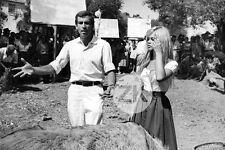 BRIGITTE BARDOT Et Dieu .. créa la femme ROGER VADIM Tournage MANCIET Photo 1956