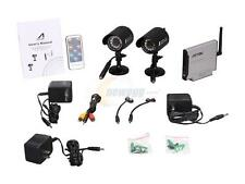 2x Wireless Surveillance   Cameras   Receiver   Remote Control