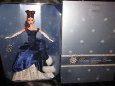 BARBIE COLLECTOR CLUB EXCLUSIVE 2001 HOLIDAY TREASURES BEAUTIFUL IN BLUE NRFB!!