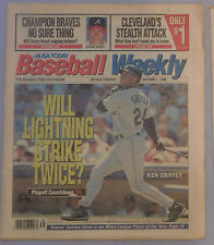October 1 1996 USA Today Baseball Weekly Ken Griffey Jr Seattle Mariners