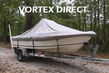 "NEW VORTEX GREY 19'6"" CENTER CONSOLE BOAT COVER, FOR UP TO 54"" TALL CONSOLE"