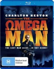 The Omega Man (Blu-ray, 2008) as NEW