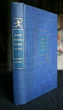 Four Famous Greek Plays 1929 Modern Library