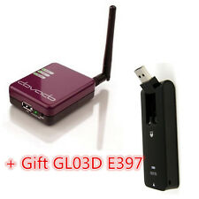 Dovado TINY 3G/4G/LTE USB-Modem Mobile Router Support USB modems+Gift GL03D E397