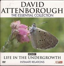 David Attenborough - The Essential Collection - INTIMATE RELATIONS - DVD