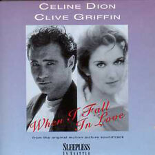 CD Single Céline DION & Clive GRIFFIN When I fall in love 2-TRACK CARDSLEEVE NEW
