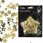 Quality Gold Star Foil Confetti +CHRISTMAS CARD DECORATIONS+ Craft/Scrap-booking