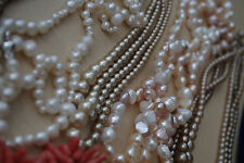 Job Lot of Beads Necklaces Possibly Pearl & Coral