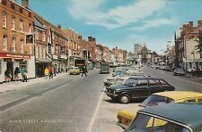 POSTCARD  WILTSHIRE  MARLBOROUGH   High  St      5