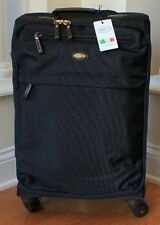 NWT Bric's X Travel Trolley Spinner 21 Carry-On Leather Trimed Luggage $350