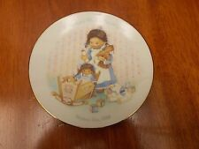 A Mother's Work Is Never Done Collectible Plate from Avon Mother's Day 1988