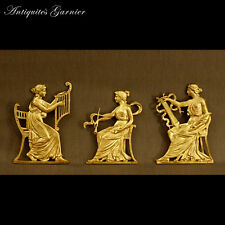 MUSICIENNES A L'ANTIQUE EN BAS-RELIEF XIXème - MUSICIANS IN THE ANTIC STYLE XIX