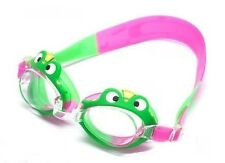 "Swimming Goggles for Kids Clear Lenses ""Prince Frog"" Design WILCOMP WIL-SG-21"