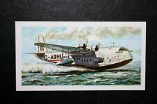 EMPIRE FLYING BOAT       Illustrated  Card ## VGC