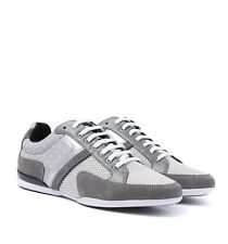 HUGO BOSS Spacit Graphic Sneakers - Medium Grey - Size 11 US - NEW IN BOX