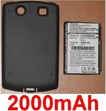 Batteria + Custodia 2000mAh Per Blackberry Curva 8900 BAT-17720-002 D-X1