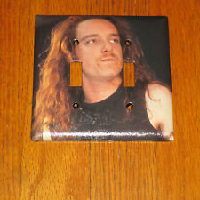 CLIFF BURTON METALLICA ROCK LEGEND 2 HOLE Light Switch Cover Plate