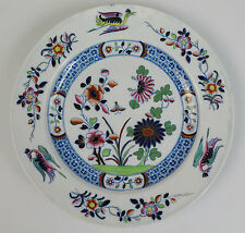 Spode china plate 'Flower and Chinoiserie' pattern 3088 Imari colours c1815