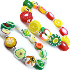 Kid's Cool Fruits Apples Beads Fashion Cute Friendship Bracelet  WB83