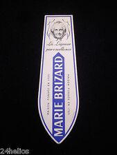 Marque Page Publicitaire Ancien LIQUEUR MARIE BRIZARD  - bookmark French Vintage