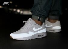 NIKE AIR MAX 1 ULTRA MOIRE Trainers Shoes Gym Fashion UK 9 (EUR 44) Triple White