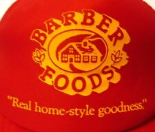 BARBER FOODS Chicken trucker cap Home-Style Goodness snapback hat Portland '80s