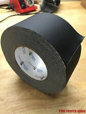 "Gaffers Stage Tape 2.75"" x 60 yards Matte Black Tone Proper Brand - BRAND NEW"