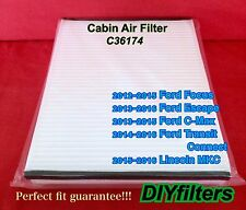C36174 Non-Carbon AC CABIN AIR FILTER for Focus Escape C-Max Transit Connect MKC