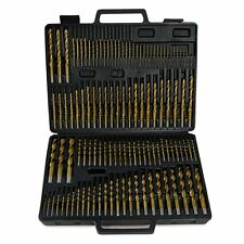 115 PC Titanium Drill Bits Number Letter A-Z W/Case Fits All Drills 1-60 A-Z New