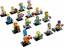 LEGO Minifigures The Simpsons Series 2 Complete Set of 16 minifigures 71009