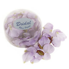 Rose Petals silk wedding table confetti Lilac Lavender