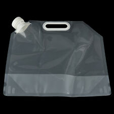 Great Portable Folding Clear Water Bag Camping Hiking Survival Tool Kit Supply