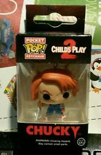 CHILDS PLAY 2 POCKET POP! CHUCKY KEYCHAIN FUNKO FIGURE BRAND NEW