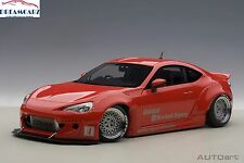 AUTOart 78757 1:18 Rocket Bunny Toyota 86 Red with Silver Wheels