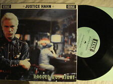 """JUSTICE HAHN-Alex Chilton """"Ragged But Right"""" 10"""" UK '91 EXILE  ROCKABILLY VG+"""