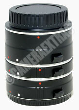 Auto Focus Macro Extension Tube Set 13+21+31mm for Canon EOS DSLR 7D 5D Mk3